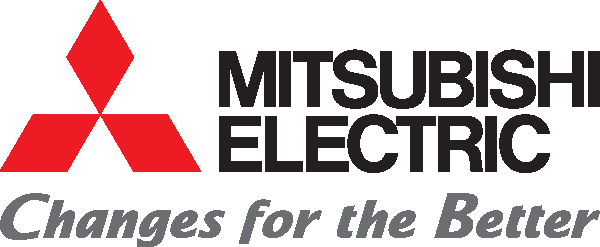 Mitsubishi electric changes for the better logo